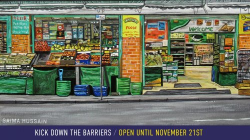 Kick Down The Barriers Exhibition