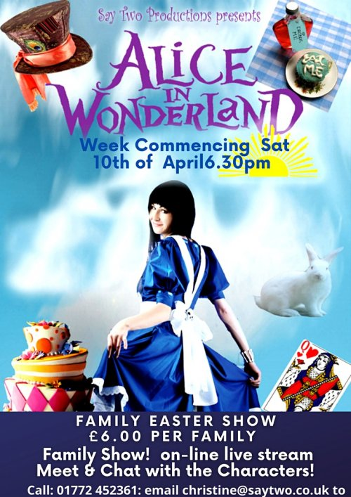 Alice in Wonderland streamed directly to your home.