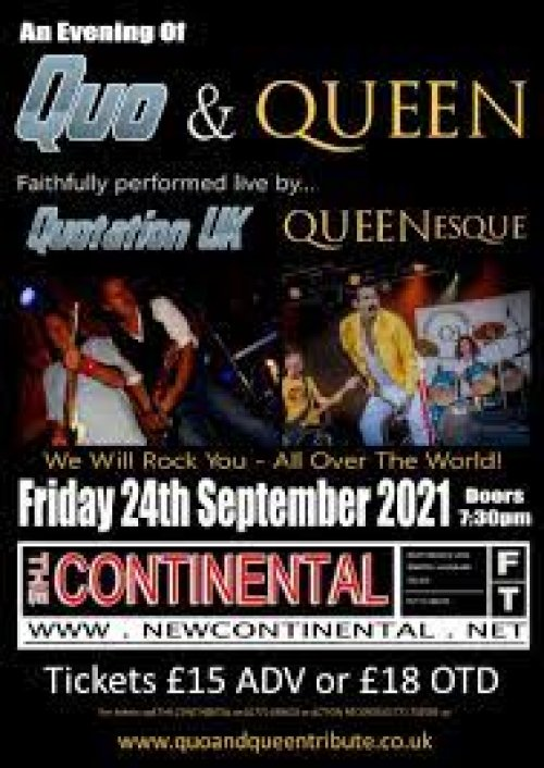An Evening of Quo and Queen