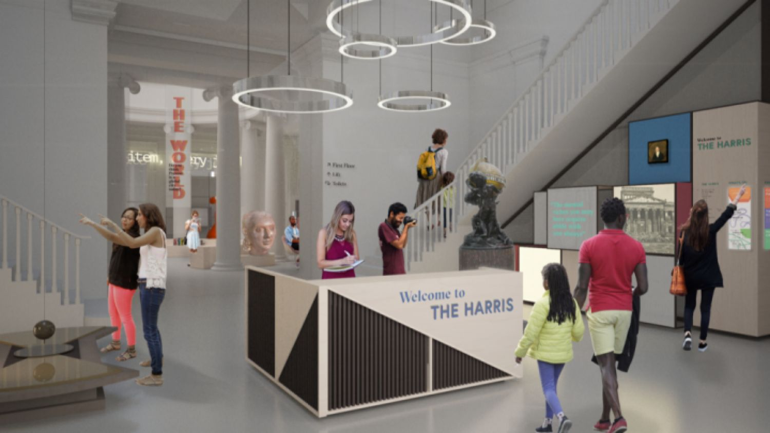 Harris Museum Undergoes Great Change and You Can Have Your Say