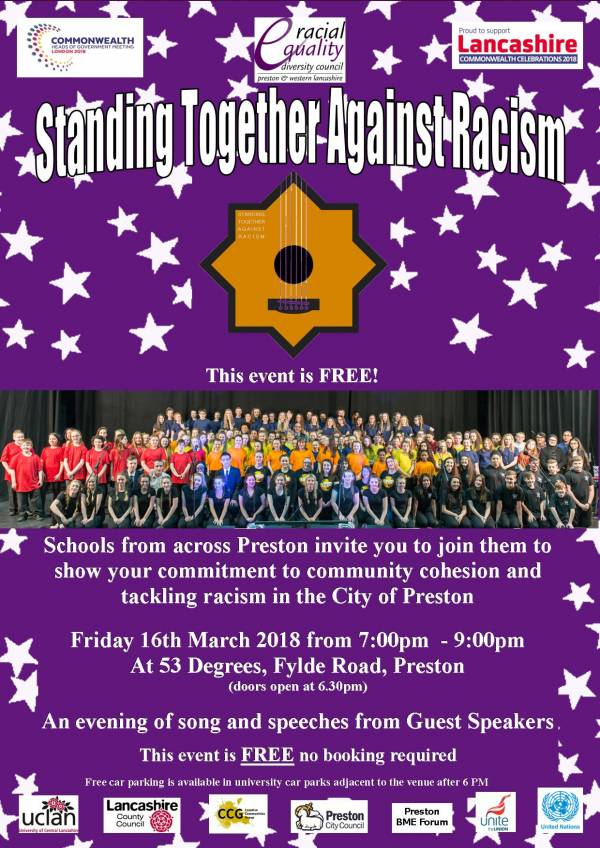 Stand Together Against Racism Choir