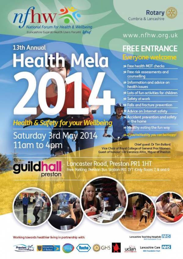 2014 Preston Health Mela