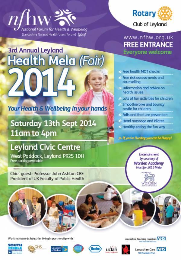 Health Mela Leyland