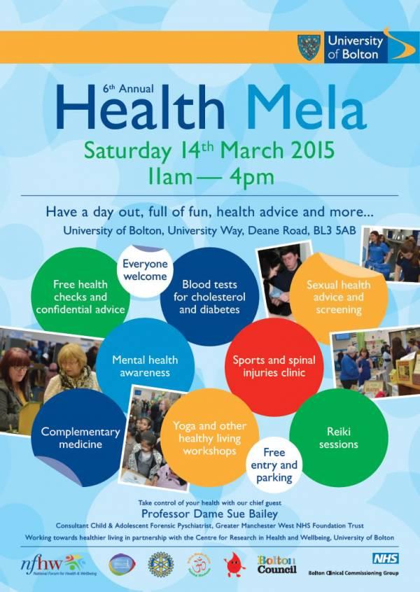 Bolton Health Mela