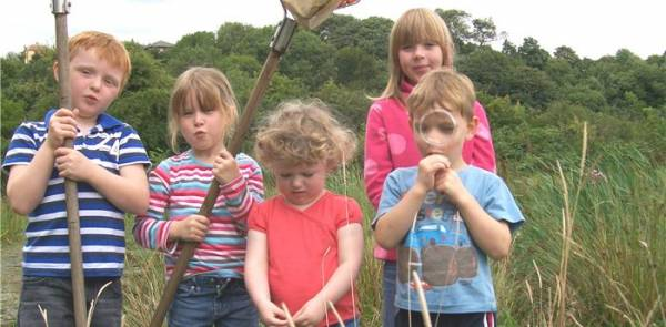 Family Fun At Fishwick Nature Reserve 1/8/17 - 15/8/17