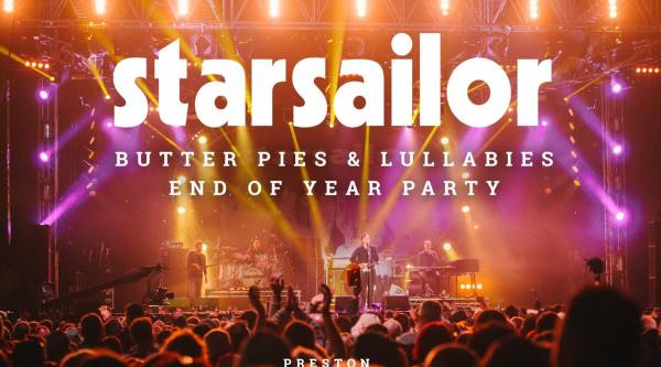 Starsailor Gig - Preston Guild Hall - 7pm - 20/12/17