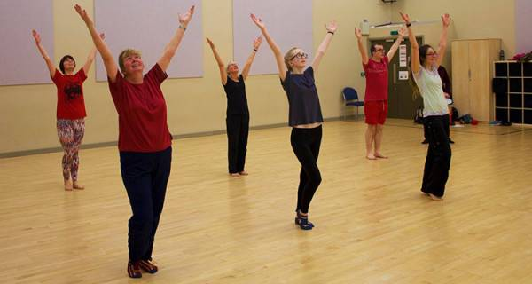 Preston Samba Dancers - UCLAN - 10am - 12noon - 16/12/17