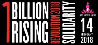 1 Billion Rising 2018 - Solidarity - UCLAN - 14/ 2/18