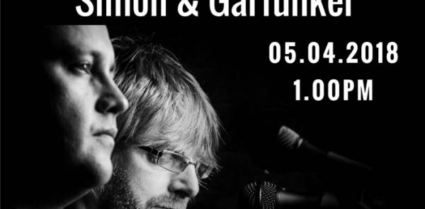 Simon And Garfunkel Unique Tribute Act - 1-1.45pm - Longton Methodist Church - 5/4/18