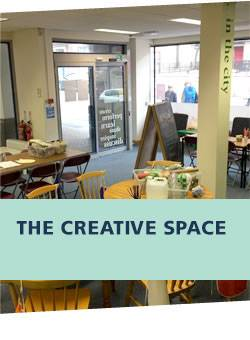 Creative Space - UCLAN In The City - 13/4/18 - 15/6/18