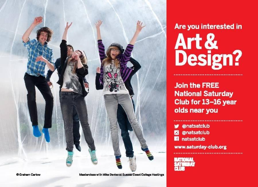 Art And Design Saturday Club - UCLAN - 9.45am - 12.15pm - 19/1/19