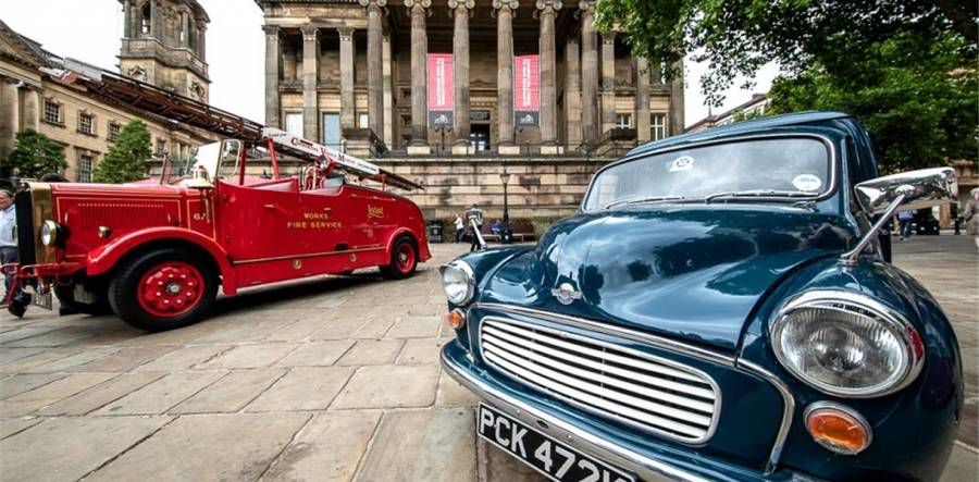 Vintage Vehicles - Preston Flag Market - 10am - 4pm - 8/6/19