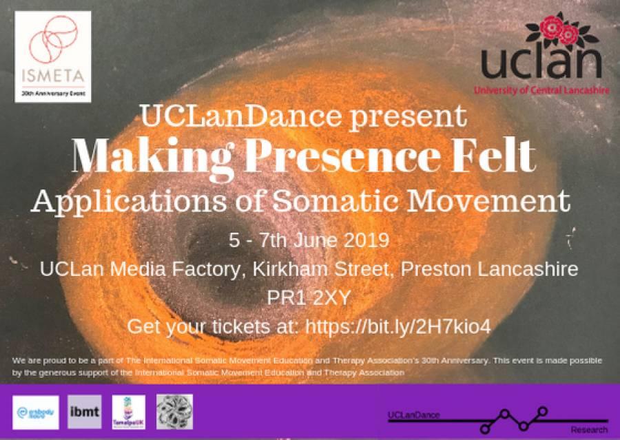 UCLAN Dance Three Day Symposium - Media Factory - 5/6/19 - 7/6/19