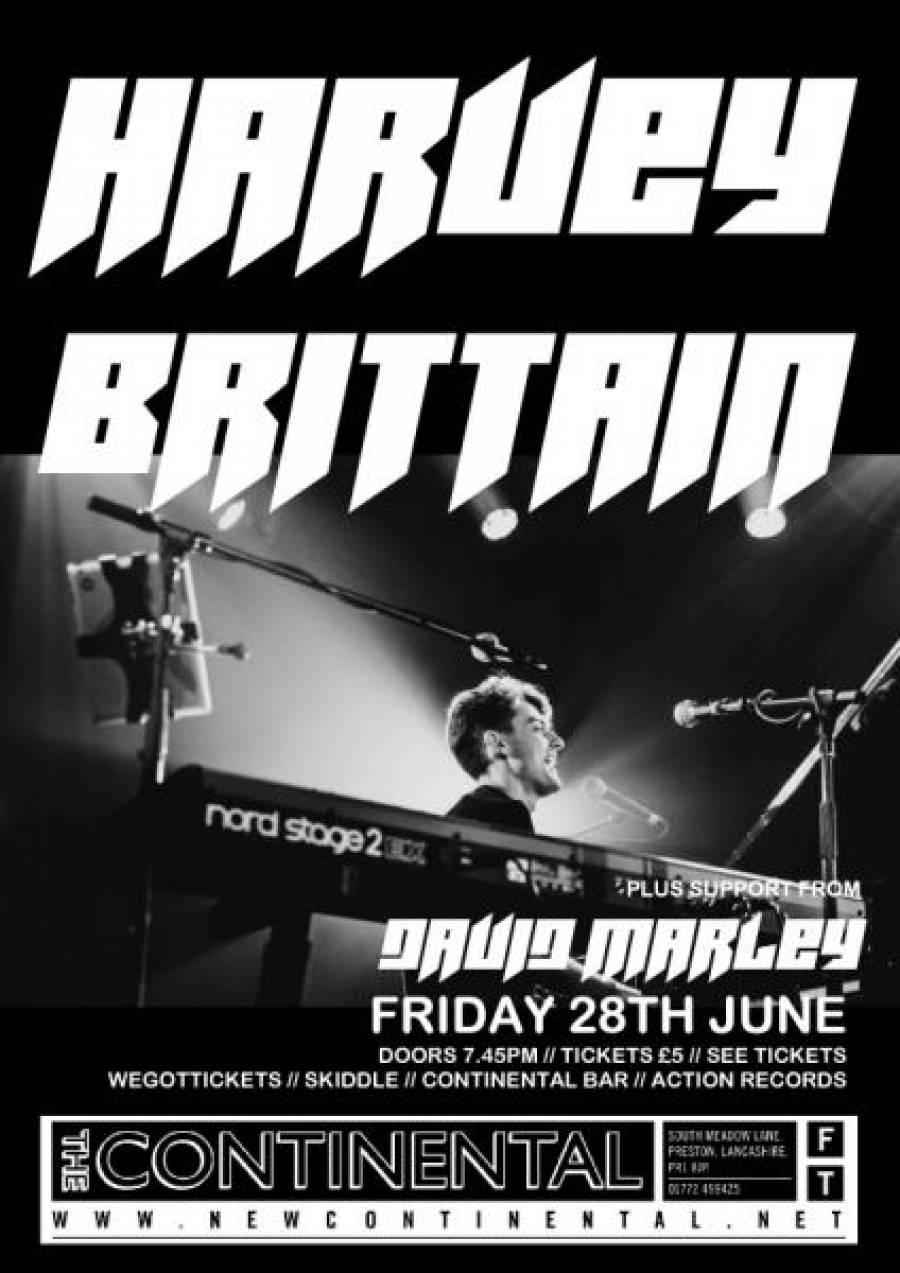 Harvey Brittain - The Continental - Preston - 7.45pm- 28/6/19