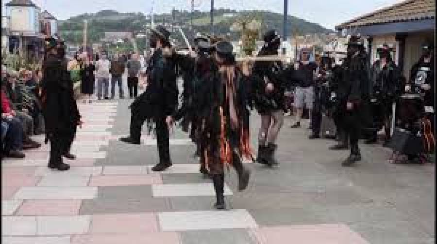 Border Morris Dancing - UCLAN - Media Factory - 7pm -9pm - 12/7/19