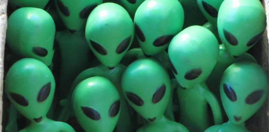 Alien Invasion- Preston Flag Market -12- 4pm -  3/8/19