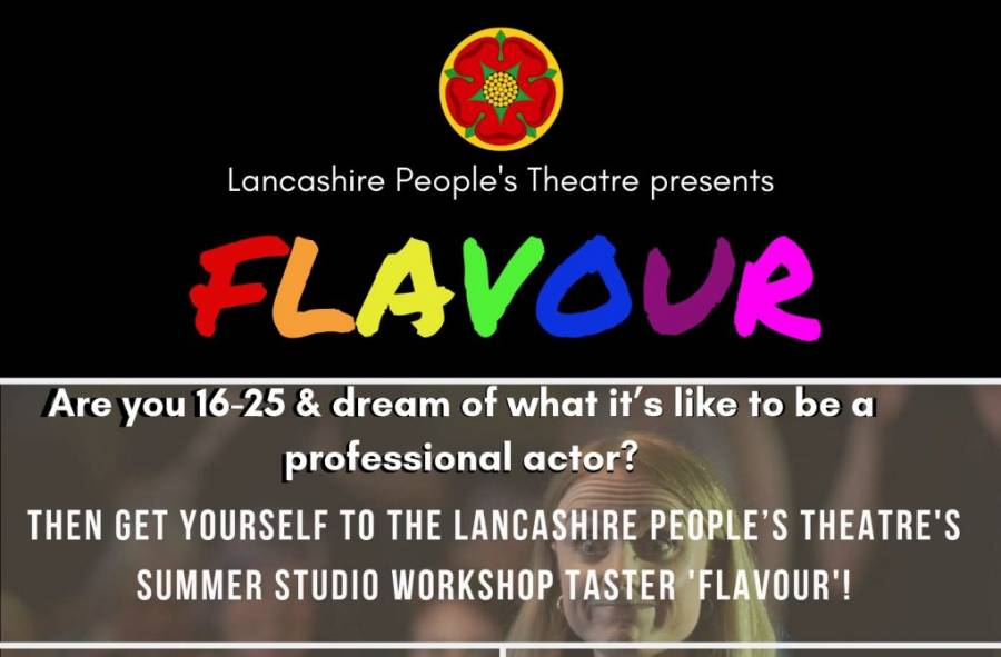 Flavour- Acting Insight - The Stanley Arms - Preston - 11am -5pm - 28/8/19 - 30/8/19