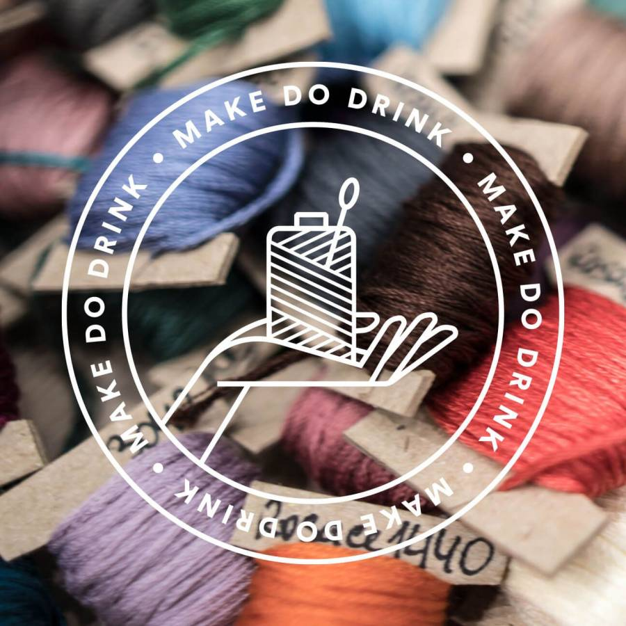 Embroidery Session - Plug And Taps Venue - Preston - 2pm -4pm- 6/10/19