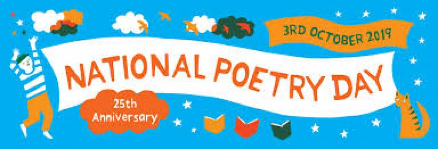 National Poetry Day -UCLAN - 7pm -10pm - 3/10/19
