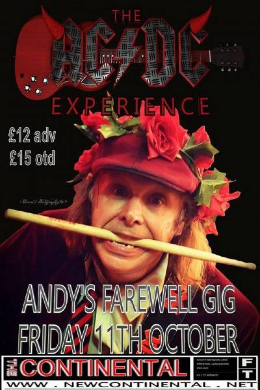 The AC/DC Experience - The Continental - Preston - 7pm - 11/10/19