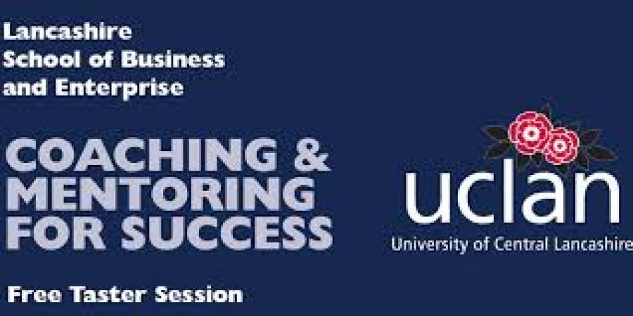 Coaching And Mentoring Taster Session - UCLAN - 4pm -6pm - 16/10/19