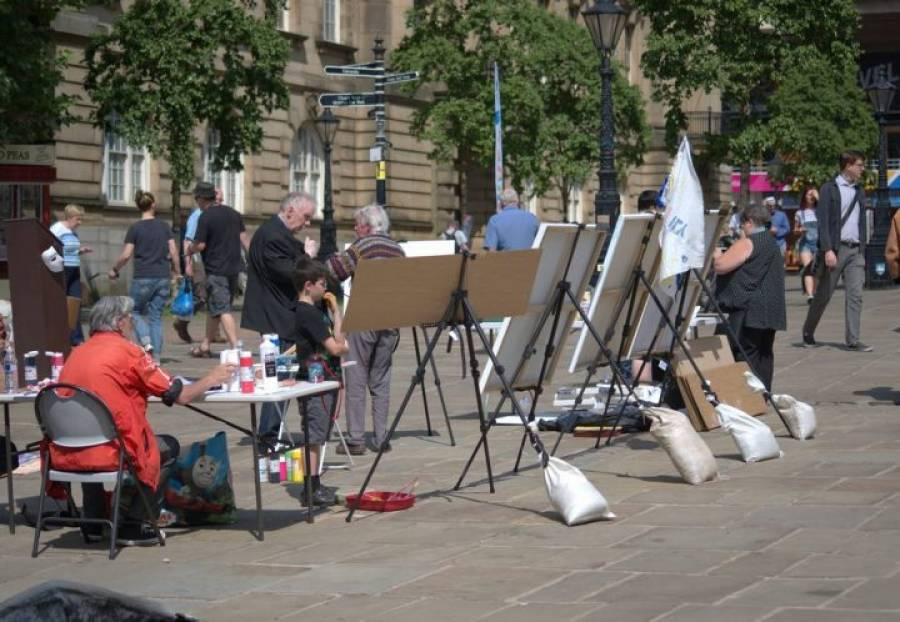 Making A Mark - Preston Flag Market - 11/07/20