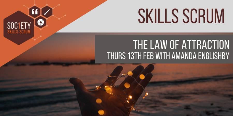 Master The Law Of Attraction - Soceity 1 - Preston - 10am - 12noon - 13/02/20