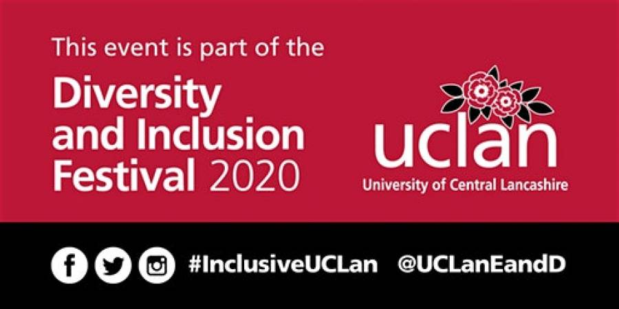 Diversity And Inclusion Exhibition - UCLAN - 9am -5pm - 16/03/20