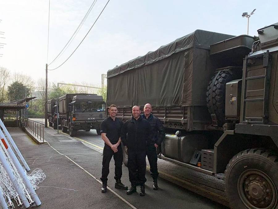 Army Support For UCLAN Area