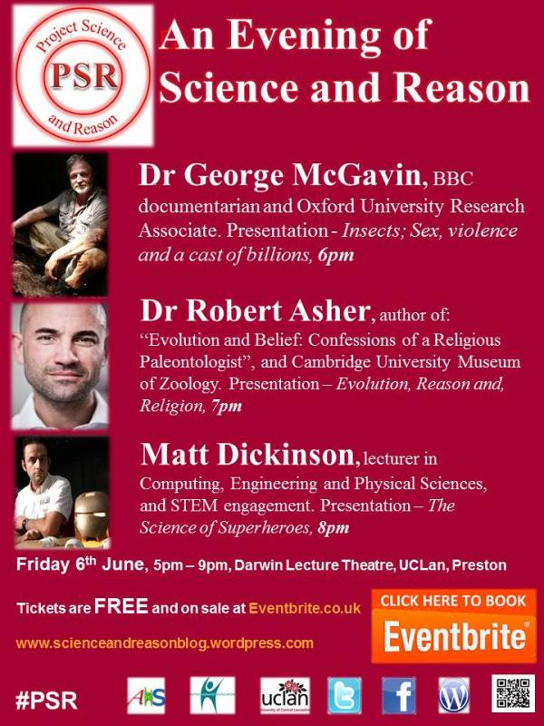 An Evening Of Science And Reason