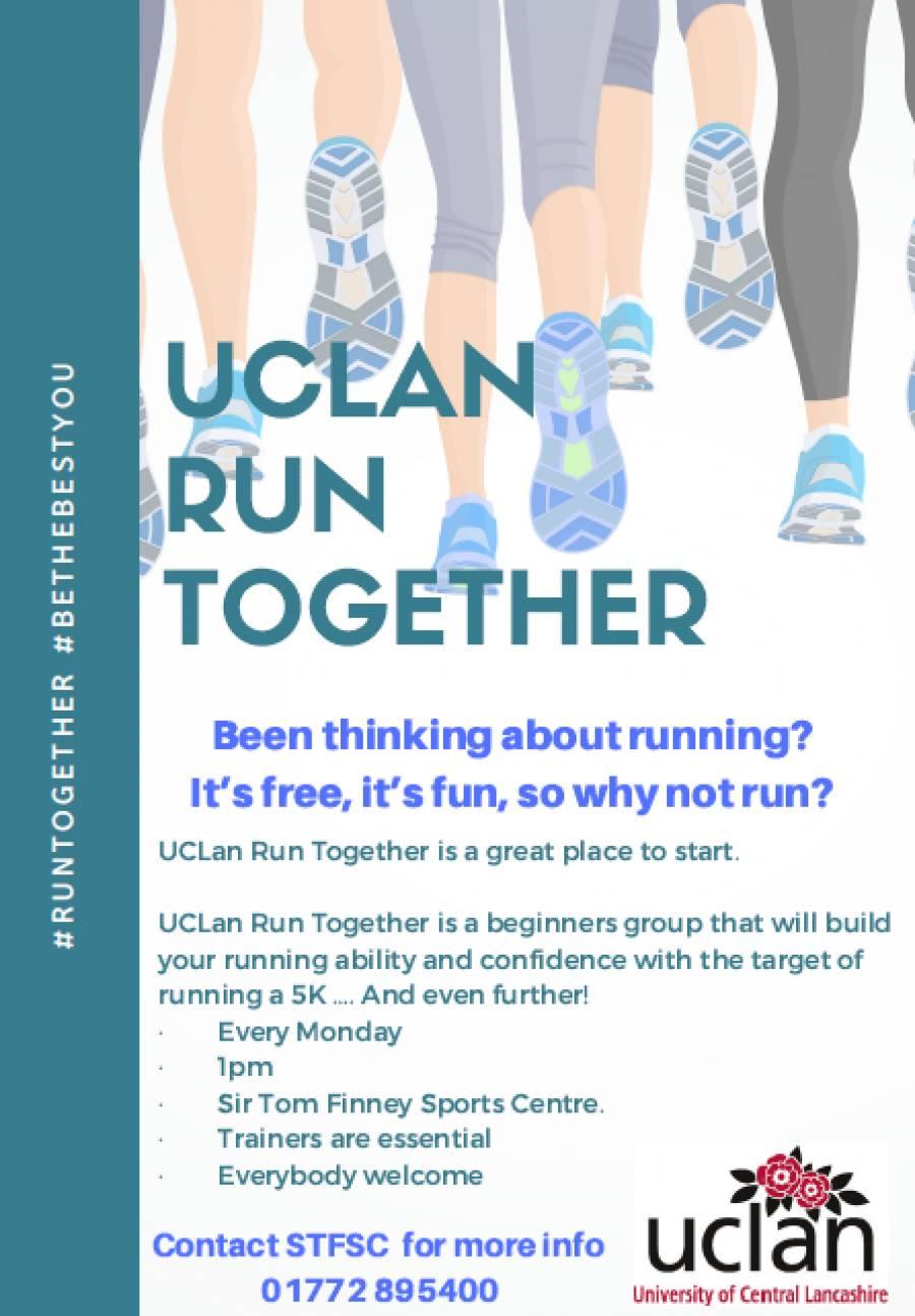 UCLan Run Together