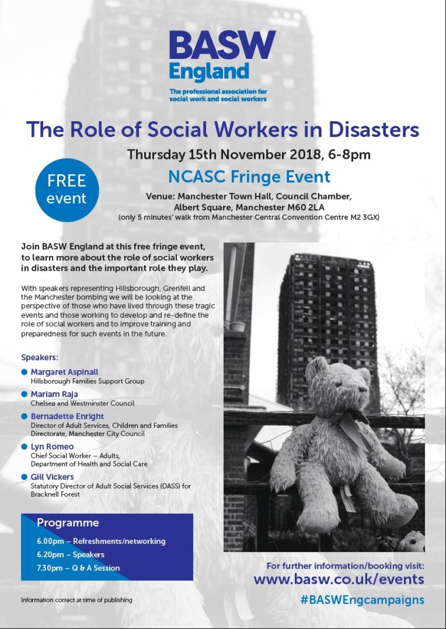 The Role Of Social Workers In Disasters