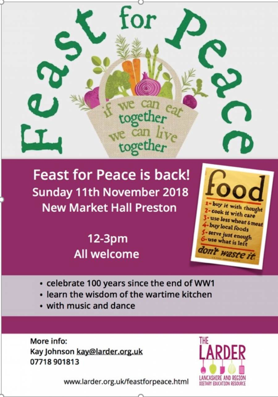 Feast For Peace 2018