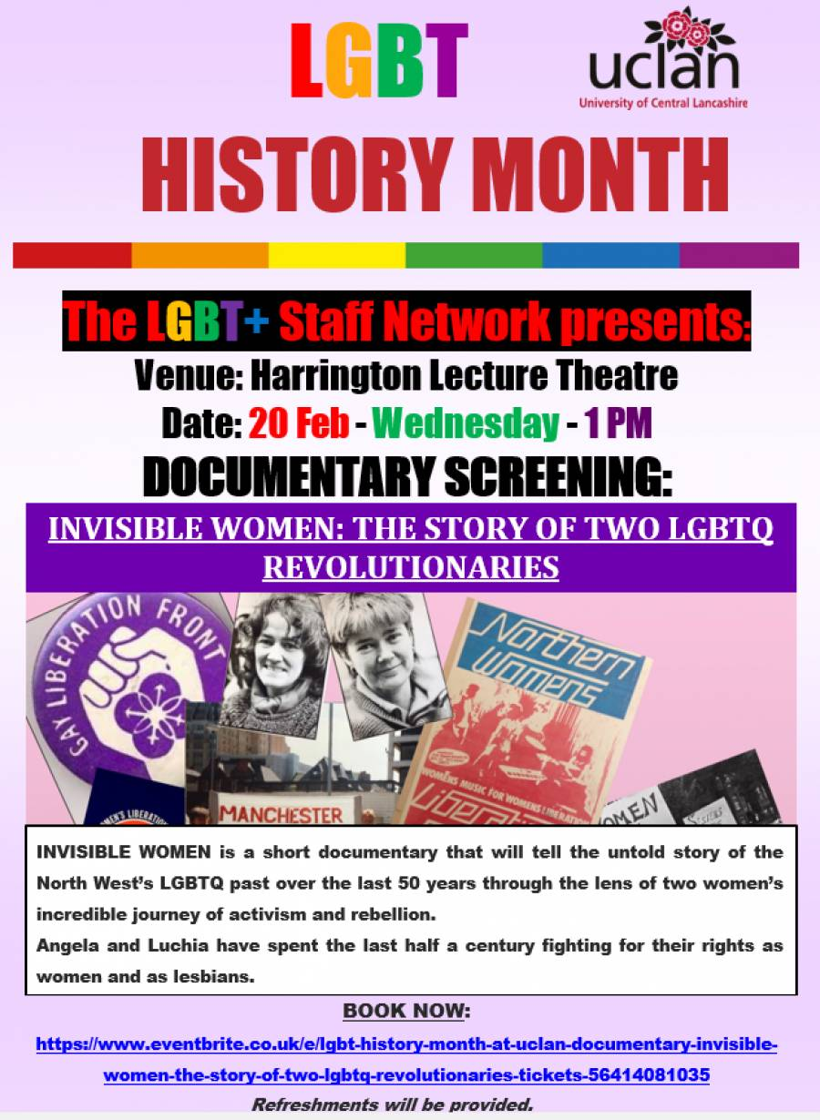 INVISIBLE WOMEN: THE STORY OF TWO LGBTQ REVOLUTIONARIESStory