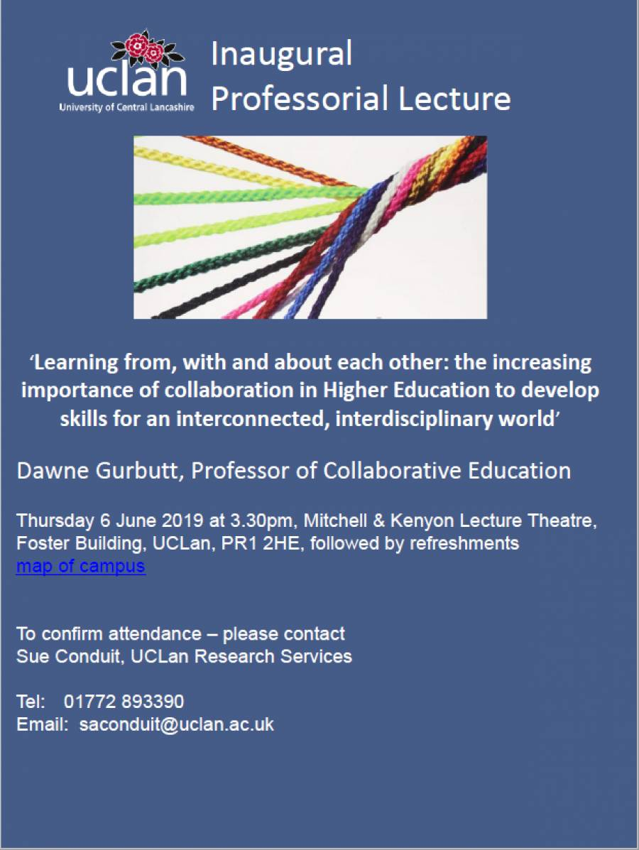 Free UCLan Lecture