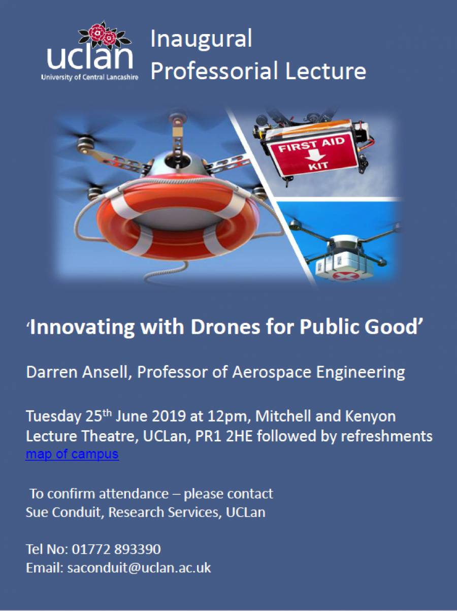 'Innovating With Drones For Public Good'