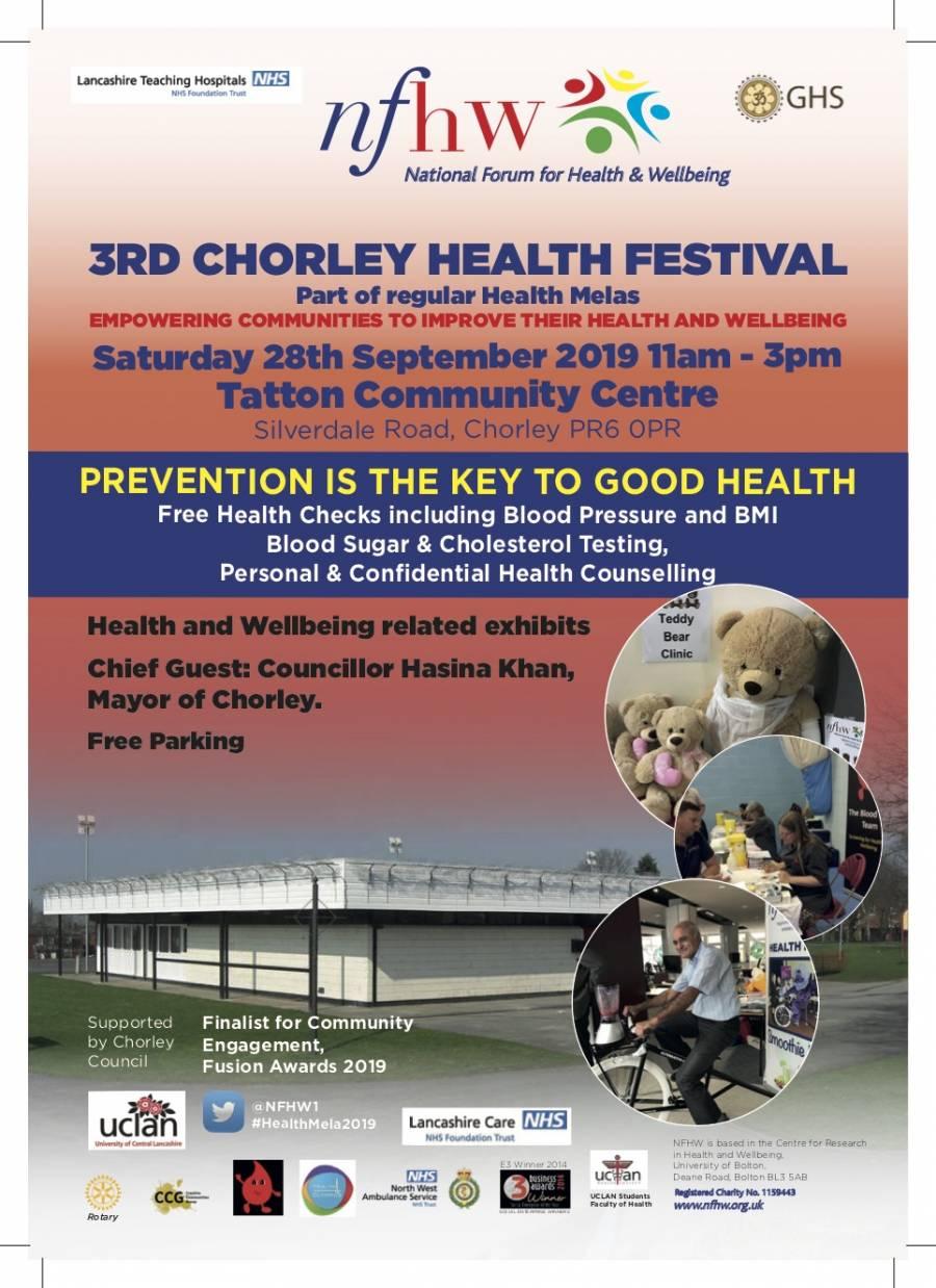 Chorley Health Mela