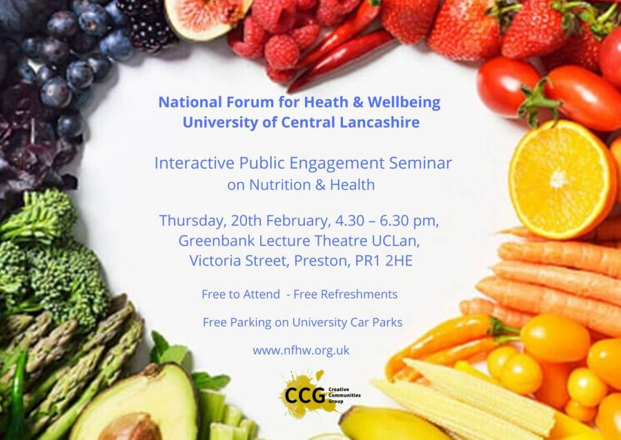 Public Engagement Seminar On Nutrition & Health