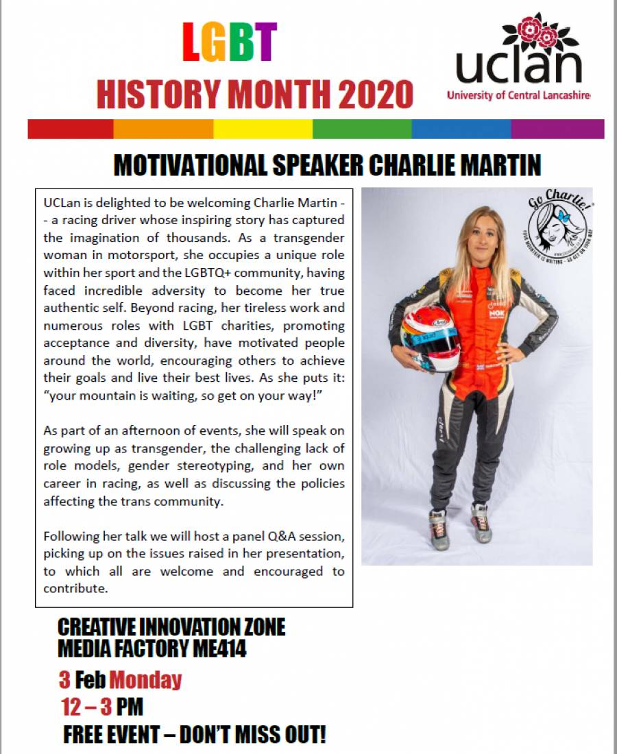 MOTIVATIONAL SPEAKER CHARLIE MARTIN
