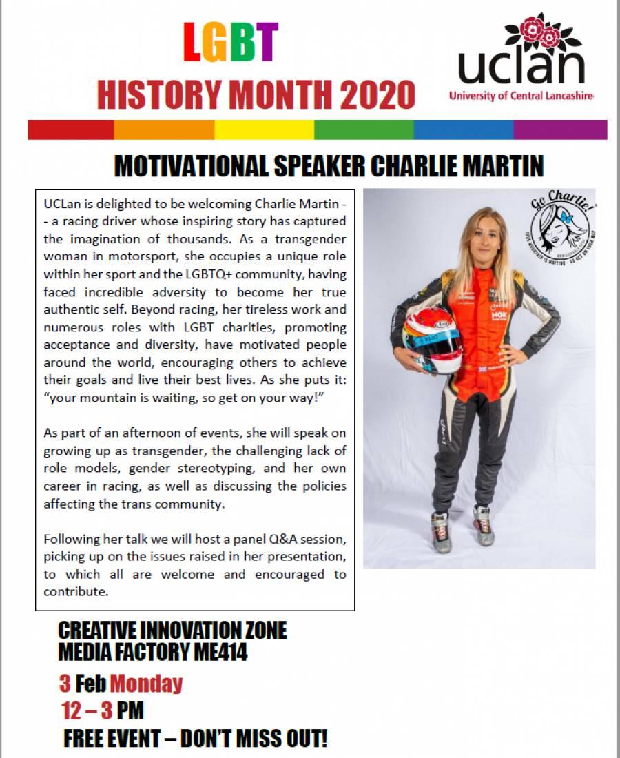 MOTIVATIONAL SPEAKER CHARLIE MARTIN