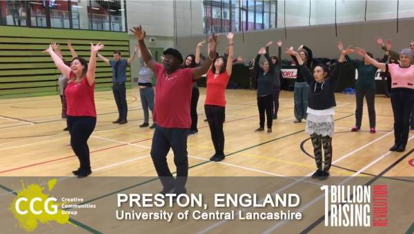 One Billion Rising Dance Event 2018 From Preston, England