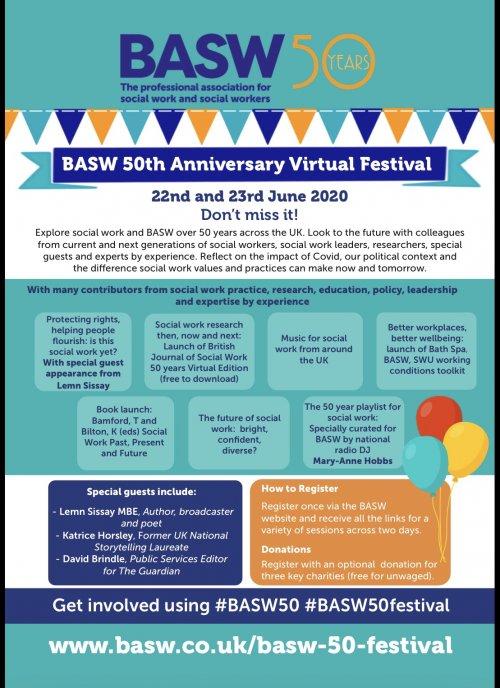 BASW 50th Anniversary Virtual Festival
