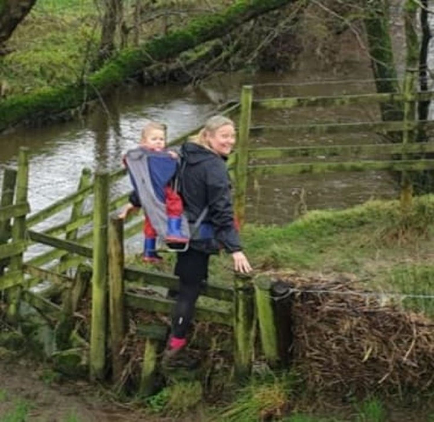 Brave mum walks for charity for the good of young people
