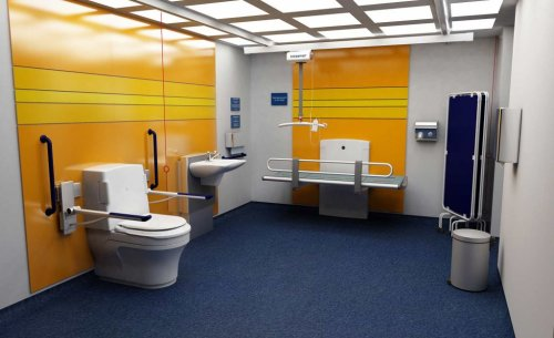 'Changing Places' - Introduces  Larger Disabled Toilet