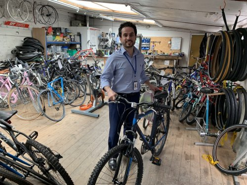 Excellent Bike Donation To Front-line NHS workers