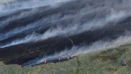 Fires Sweep Across Lancashire