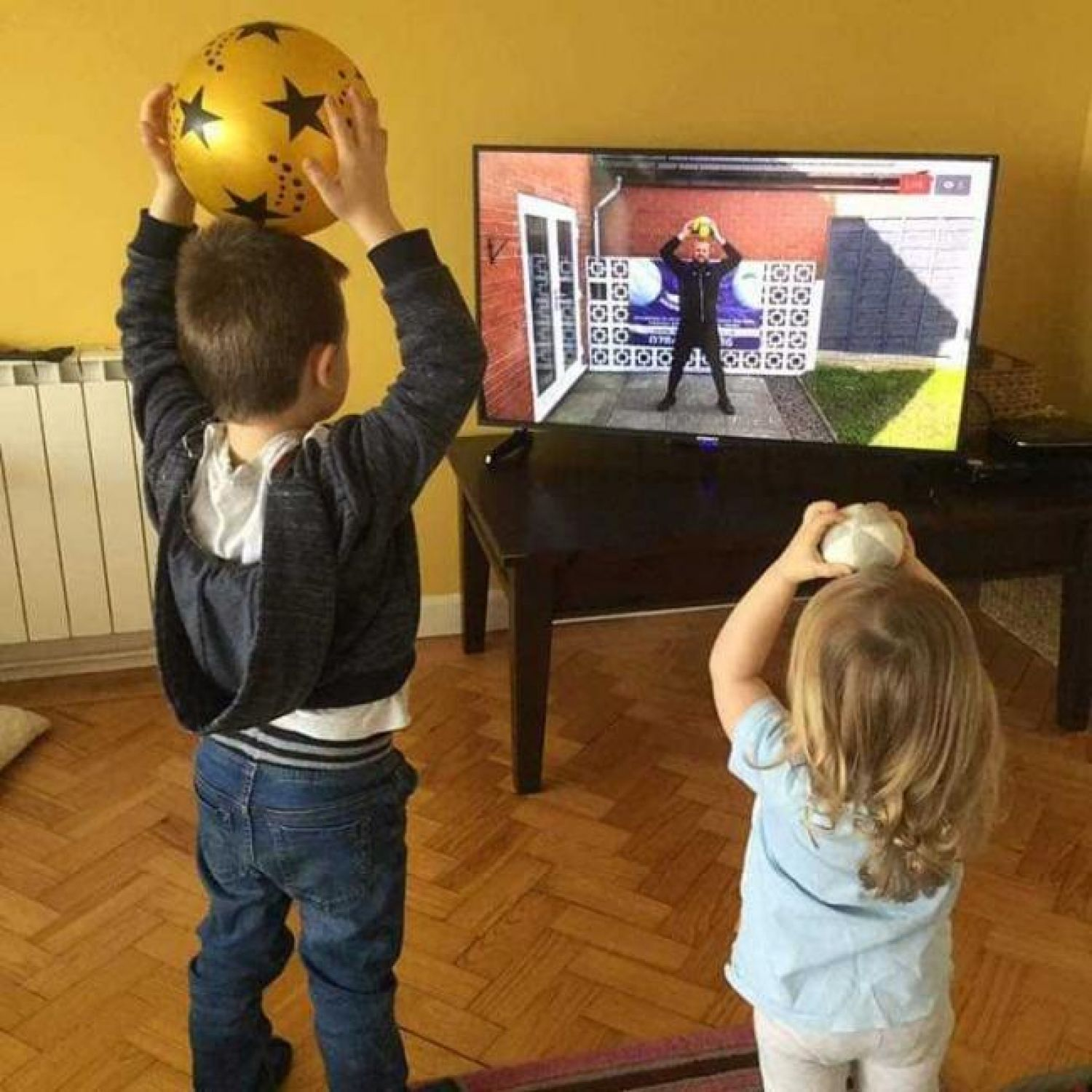 How to Keep Active During Lock-down whilst having a toddler