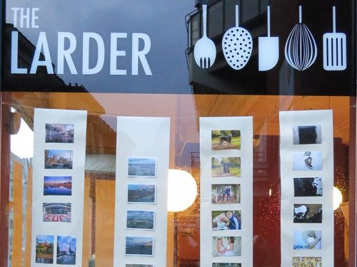 New Open Exhibition - 'Preston on a Postcard' -Showing in The Larder cafe