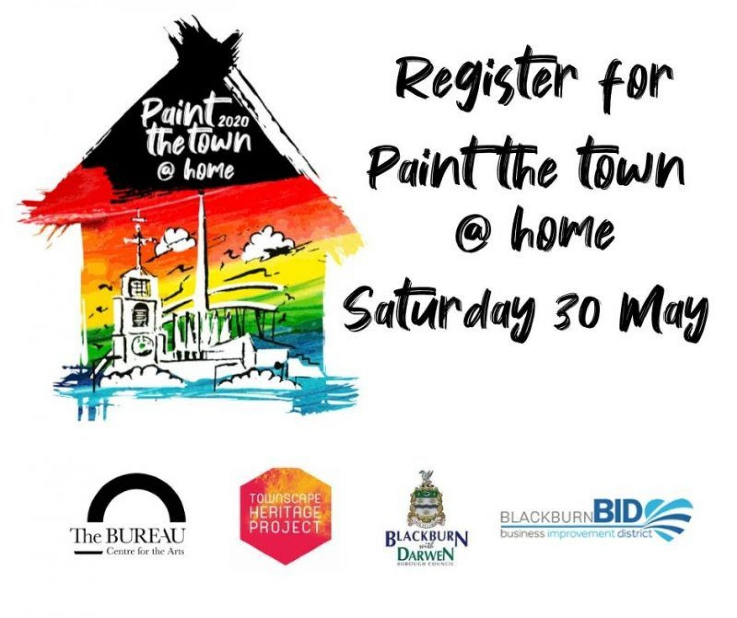 Paint The Town @ Home - Annual Blackburn Event Coming To Your Living Room - 30/05/20