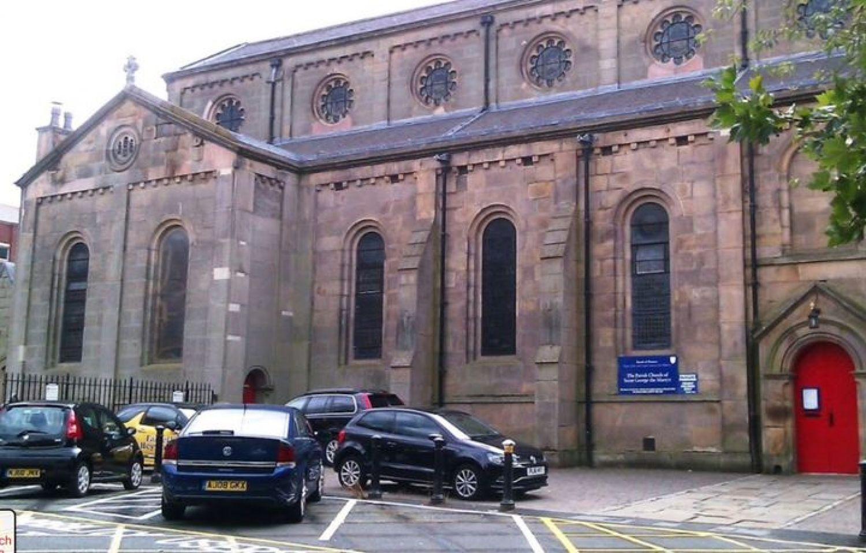 Preston's St. Georges Church - Creation Crawl - during summer break